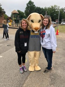 Second Grade Teachers with mascot